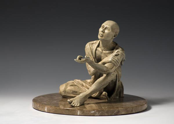 Truth-seeker bronze sculpture by Gregory Reade